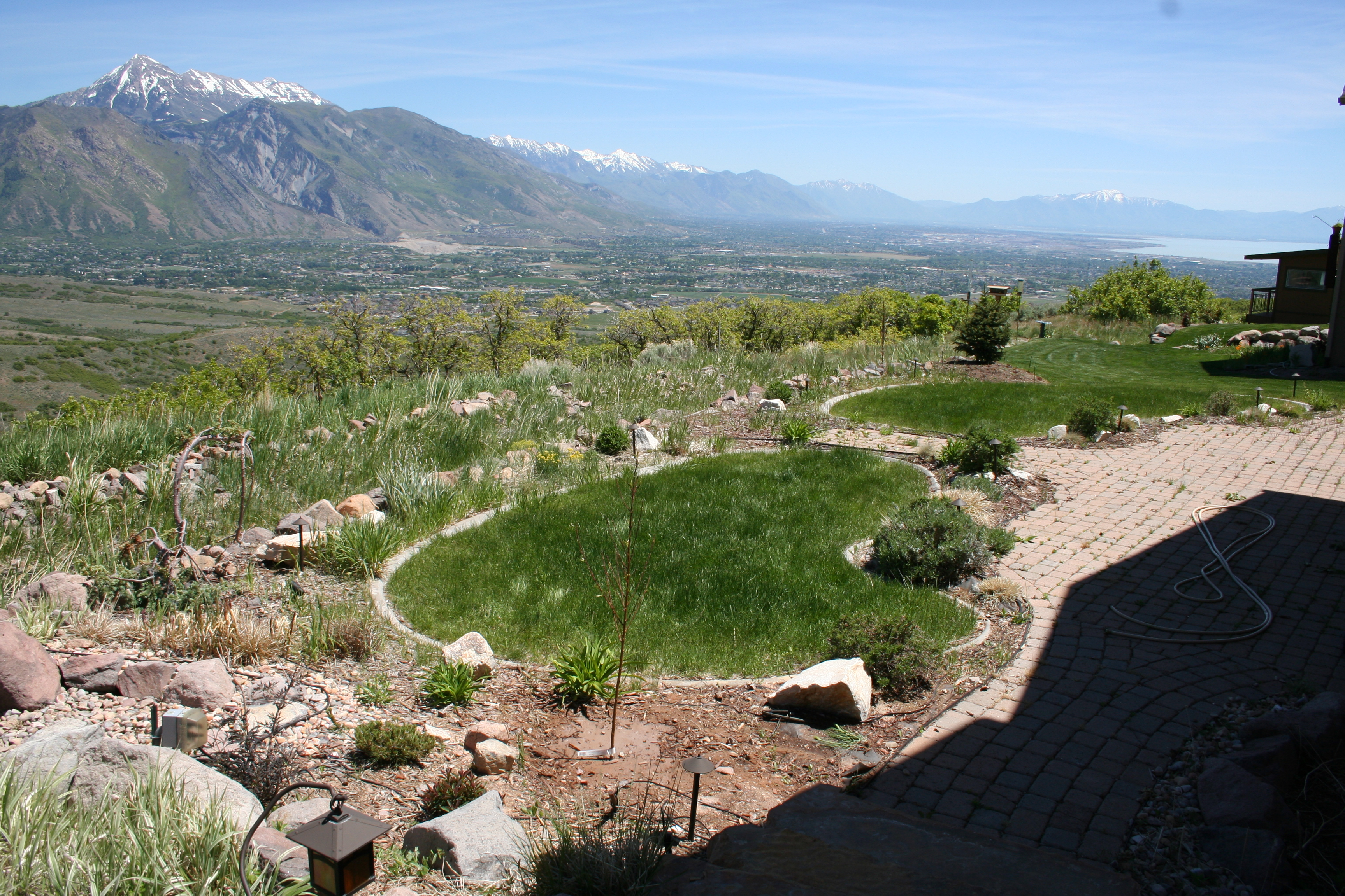 help us with ideas for our backyard landscape valley gardens